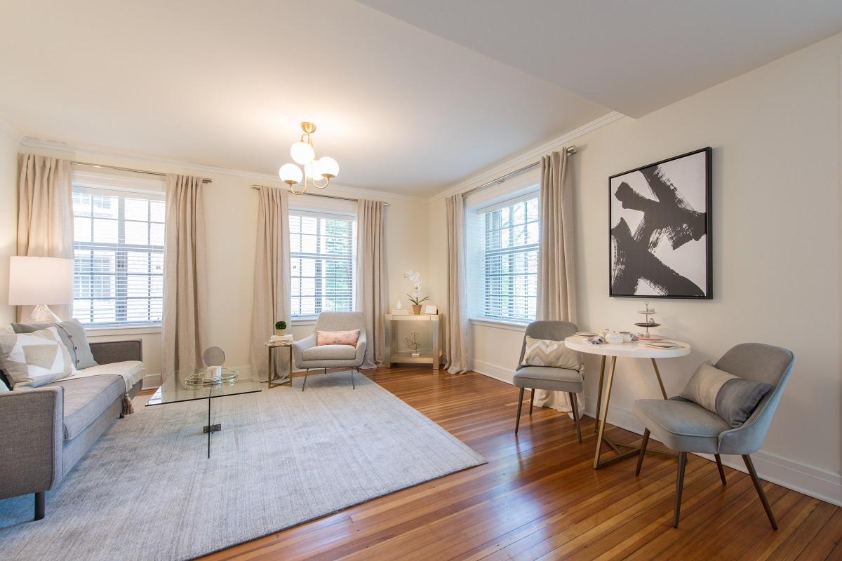 Energy efficient windows provide extensive natural light